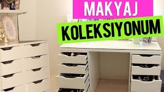 Makyaj Koleksiyonum ve Makyaj Masam | Sebi Bebi