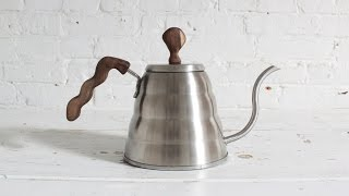 How to carve new wood handles for an Hario kettle