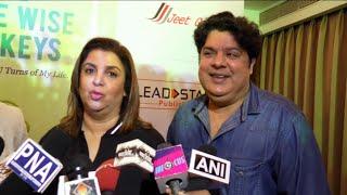 Farah Khan And Sajid Khan Funny Interview Together
