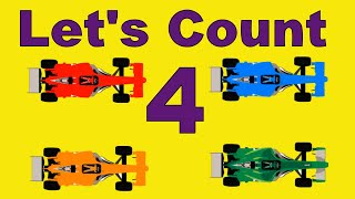 Counting Numbers for Toddlers - Counting Street Vehicles - Best Baby Learning Video