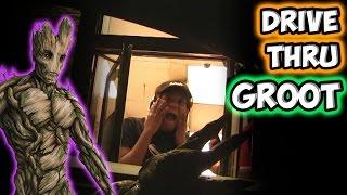 Drive Thru Groot!