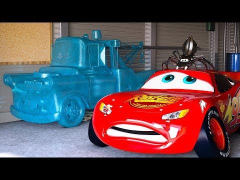 Xxx Mp4 LIGHTNING MCQUEEN FREAKS OUT After Seeing FROZEN Mater CARS Season 1 Full Movie Disney Pixar CGI 3gp Sex