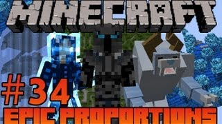 Minecraft: Epic Proportions - Name My Dravite Bunny #34 (Modded Minecraft Survival)