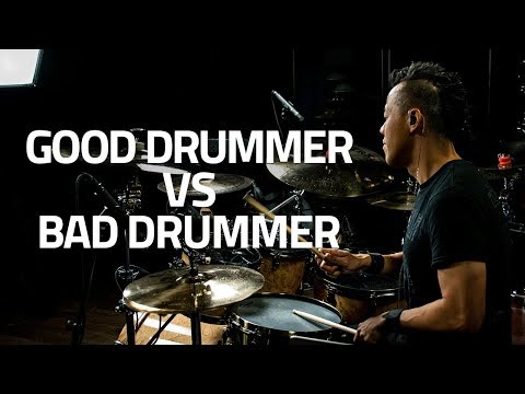 How To Tell A Good Drummer From A Bad Drummer