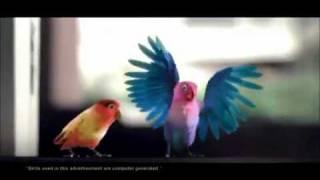 KitKat Love Birds Latest TV Ad - Aao Na Gale Lagao Na 2012 HD Video.flv
