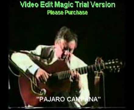 Cacho Tirao.Interpreta pajaro campana