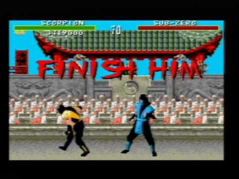 Xxx Mp4 Mortal Kombat 1 On SEGA Mega Drive Genesis Part 1 Scorpion Playthrough 3gp Sex