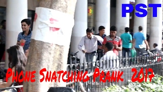 Phone Snatching Prank 2017 || locate phone app || Prank in India ||  PrankShooterTeam