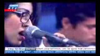 amar bondhu doyamoy Bangla folk Song Live performance 2016 by Turin Bangladeshi Mehedi