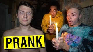 PRANKING BEST FRIEND INTO DOING A DANGEROUS RITUAL!! (GONE WRONG)