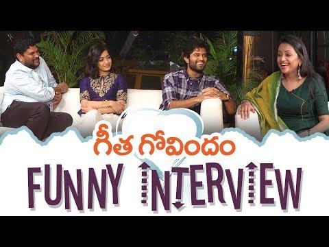 Xxx Mp4 Geetha Govindam Team Funny Interview Vijay Deverakonda Rashmika Mandanna Parasuram 3gp Sex