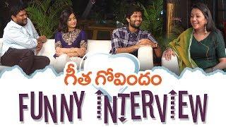 Geetha Govindam Team Funny Interview | Vijay Deverakonda, Rashmika Mandanna, Parasuram