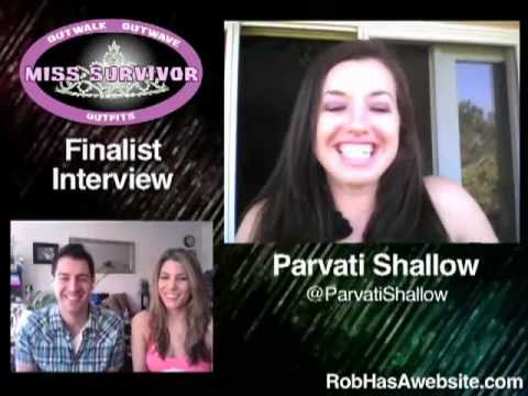 Xxx Mp4 Parvati Shallow Finalist Interview For Miss Surviovr 3gp Sex
