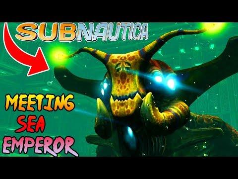 MEETING THE SEA QUEEN Sweet Sea Emperor Subnautica Part 18