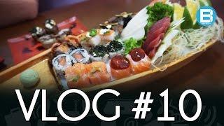 VLOG DO BECKER #10 - Camiseta de mendigo, comida japonesa e samba!