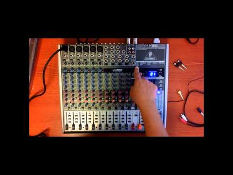 A review of the Behringer XENYX X1832USB Small Format Mixer