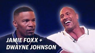 Jamie Foxx Interviews Dwayne Johnson || OFF SCRIPT a Grey Goose Production