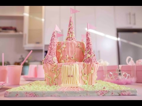 How To Make A Princess Castle Cake On Dailymotion