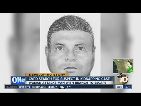 Chula Vista police search for man suspected in kidnapping case