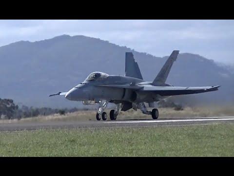 Australia's Top RAAF Fighter Pilot in the F/A 18 Hornet