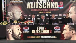 Tyson Fury v Wladimir Klitschko 2 full press conference