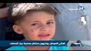 احتدام المعارك العسكرية في مدينة الموصل