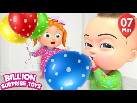 Kids Balloon Song | BST Songs for Children