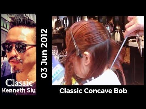 Kenneth Siu Beautiful Concave Bob Cut