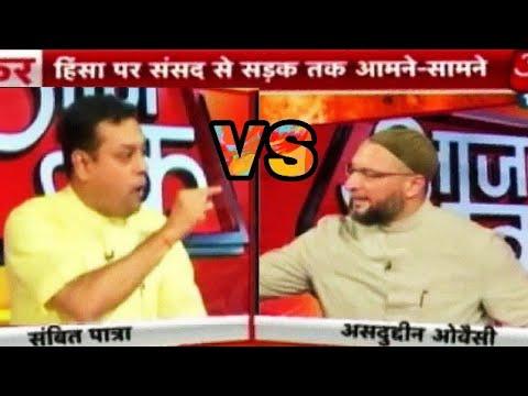 Xxx Mp4 HinduMuslim Biggest Fight Between Asaduddin Owaisi And Sambit Patra For Hindu Muslim Hot Debate 3gp Sex
