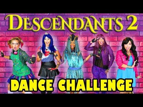 Descendants 2 Dance Challenge Uma s Dance Off. Totally TV