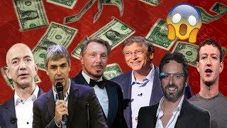 أغنى مليارديرات في مجال التكنولوجيا - لن تصدق حجم ثروتهم