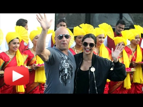 Xxx Mp4 Vin Diesel Arrives In India With Deepika Padukone XXX Return Of Xander Cage India Premiere 3gp Sex