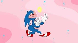 Sonic The Hedgehog Walk Cycles (18+)