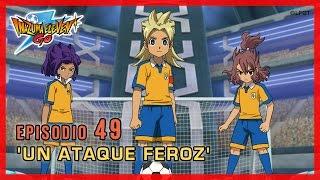 Inazuma Eleven Go Chrono Stones - Episodio 49 español «¡Un ataque feroz!»