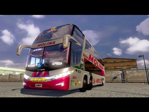 Euro Truck Simulator 2 Thailand Mod Bus G7 1800 DD 8x2 v.1.15.x / 1.16.x Part2