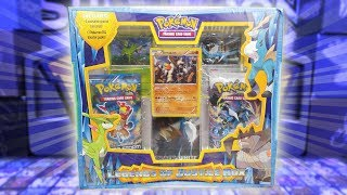 Pokemon Cards - Legends Of Justice Box Opening!