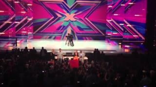 Judges Enter X Factor Taping in NC