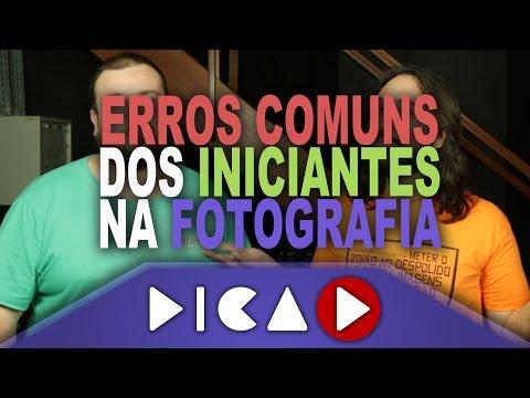 watch Erros Mais Comuns dos Fotógrafos Iniciantes - DicaD