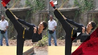 Tiger Shroff's Deadly Action Stunt For 'Baaghi' | Bollywood News