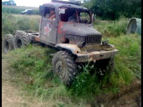 Praga Truck Trial Offroad Testing