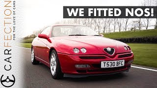 Alfa Track Build - We Added Nitrous To Our DIY Race Car! - Carfection