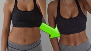 TINY WAIST WORKOUT (1 WEEK RESULTS!) SHAPE YOUR TUMMY