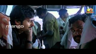 Prabhas Comedy in Bus | Best Funny Scenes | Bujjigadu Telugu Movie Comedy Scenes | Trisha | Sanjana
