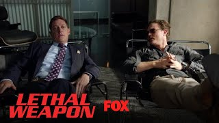 Avery & Riggs Talk About His Car Accident | Season 2 Ep. 13 | LETHAL WEAPON