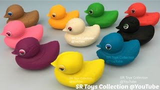Learn to Count Numbers 1 to 9 with Play Doh Ducks Fun and Creative for Kids