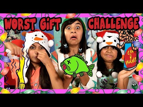 Worst Gift Challenge Christmas CHALLENGES GEM Sisters
