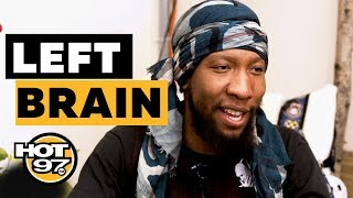 Odd Future's Left Brain Shares Why He Raps & Shows How He Rolls