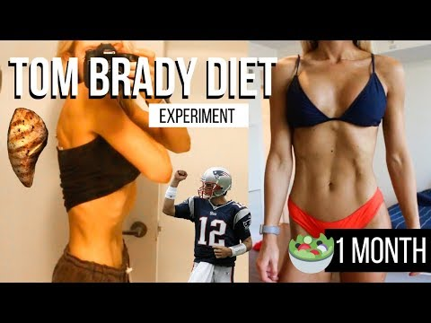 I did Tom Brady s INSANE diet for a month and LOST TOO MUCH WEIGHT