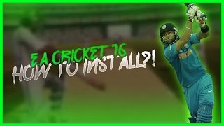 Download How to Download & Install EA Sports Cricket 2016 Patch for Cricket07 PC Game [Guide] 3Gp Mp4