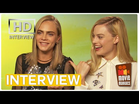 Suicide Squad Stars on their most attractive member Exclusive interview